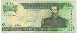 République Dominicaine - Billet De 10 Pesos - Matias Ramon Mella - 2002 - P169b - Repubblica Dominicana