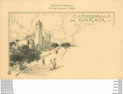 SENEGAL. Cathédrale De Dakar Dessin De 1914 - Senegal