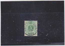 Belgie Nr 45 Ostende - Quai - 1869-1888 Lion Couché (Liegender Löwe)
