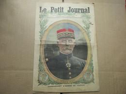 Le Petit Journal / N° 1320 - 9 Avril 1916 / Commandant L'armée De Verdun - 1900 - 1949