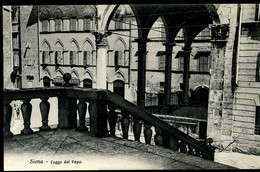 Siena Logge Del Papa Giuntini Bentivoglio - Siena
