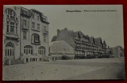 CPA 1931  Nieuport-Bains - Villas Le Bout Du Monde & Crombez - Nieuwpoort
