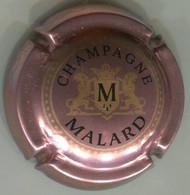 CAPSULE-CHAMPAGNE MALARD N°10h Fond Rosé Foncé - Other
