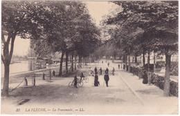 Sarthe : LA FLECHE : La Promenade : Animée - La Fleche