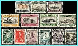 "GREECE -GRECE -HELLAS 1927: Landscapes A"" Compl Set Used - Usados"