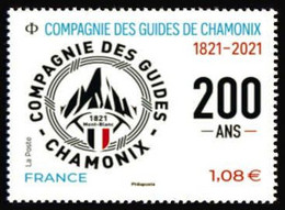 France 2021 - La Compagnie Des Guides De Chamonix ** - Nuevos