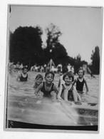 (RECTO / VERSO) JEUNES ENFANTS A LA PISCINE -  PHOTO FORMAT 120 X 90 Mm - 75 - Fotografía