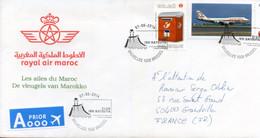 "Maroc, Belgique; 2014 ;belle Enveloppe,Ibn Batouta ""Morocco;Marruecos - Marruecos (1956-...)"