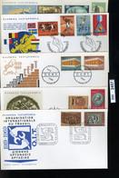BM2457, Griechenland, O, 1969, 5 FDC, - FDC