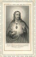 IMAGE PIEUSE CANIVET DENTELE EDITION BONAMY - Images Religieuses