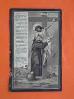 Amelie Bollaert - Verkindt Geboren Te Wytschaete ( Wijtschate ) 1845 En Overleden 1924 (2scans) - Religion & Esotericism