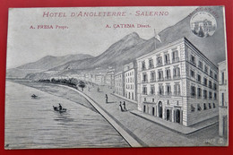 Cpa SALERNO Hotel D'Angleterre A. FRESA Prop.  A. CATENA Direct. - Salerno