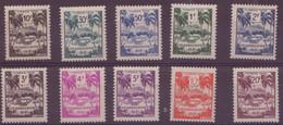 ⭐ Guadeloupe - Taxe - YT N° 41 à 50 ** - Neuf Sans Charnière - 1947 ⭐ - Postage Due