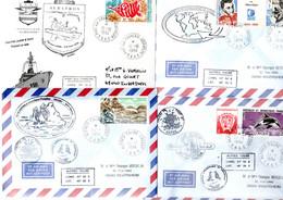 TAAF / LOT DE 34 ENVELOPPES DE LA CAMPAGNE 1994 - Collections, Lots & Series