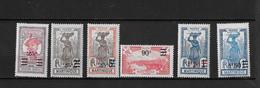 ⭐ Martinique Y.T N°111 à 116**, Neuf Sans Charnière ⭐ - Unused Stamps