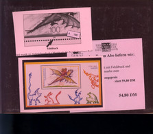 Bundesrepublik, PLF  Block Aus  1994 - Alter VK 54,80 - Errori Di Stampa