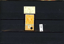 BiZone, AM Post, Xx, 20 Az, Typ 11, Feld 97, Mit Plattenfehler XXII, Nach Hettler : Euro 120 - Zona Anglo-Americana