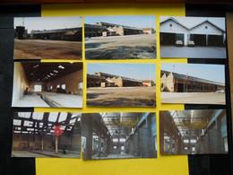 Photo ,TRAMWAY Et Gares COTE  D'OR, Collection Bourneuf ,lire Descriptif , Dijon ,Boudronnée Avant Démolition - Treni