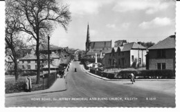 Kilsyth - Howe Road, Dr Jeffrey Mémorial And Burns Church - Lanarkshire / Glasgow