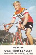 CPA - Tino Tabak - Groupe Sportif Sonolor - Cycling