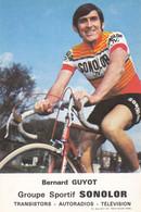 CPA - Bernard Guyot - Groupe Sportif Sonolor - Cycling