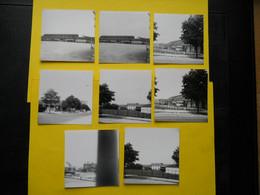 Photo ,TRAMWAY Et Gares COTE  D'OR, Collection Bourneuf ,lire Descriptif , Dijon ,Boudronnée - Treni