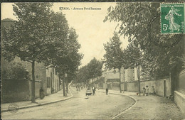 55 Meuse ETAIN Avenue Prud,homme Animée - Etain