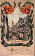 ! Köln, Alte Jugendstil Ansichtskarte, Hohestrasse, Rudolf Mosse - Koeln
