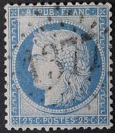 60C Obl GC 1377 Ecouche (59 Orne ) Ind 4 ; Frappe Nette Et TB Centrée - 1849-1876: Période Classique