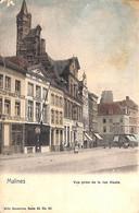 Malines - Mechelen -  Vue Prise De La Rue Haute (Nels Animatie Gekleurd) - Mechelen