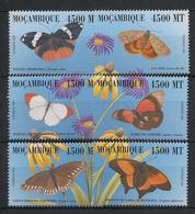 Moçambique - 2000 - N°Yv. 1406 à 1411 - Papillon / Butterfly - Neuf Luxe ** / MNH / Postfrisch - Schmetterlinge