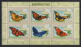Moçambique - 2007 - N°Yv. 2354 à 2359 - Papillon / Butterfly - Neuf Luxe ** / MNH / Postfrisch - Farfalle