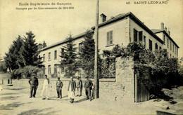 France > [87] Haute-Vienne > Saint Leonard De Noblat > Ecole Supérieure De Garçons / 101 - Saint Leonard De Noblat
