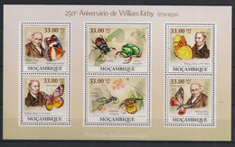 Moçambique - 2009 - N°Yv. 2668 à 2673 - Papillon / Butterfly - Neuf Luxe ** / MNH / Postfrisch - Farfalle
