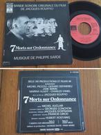 """RARE French SP BOF OST 45t RPM (7"""") """"7 MORTS SUR ORDONNANCE"""" (1975) - Musica Di Film"""