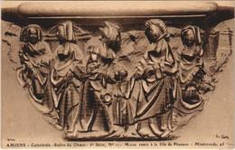 CPA La Cathédrale AMIENS Stalles Du Choeur 5380 (18069) - Amiens