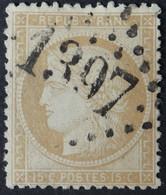 59 (cote 8 €) Obl GC 1397 Epernay (49 Marne ) Ind 1 ; Frappe Nette Et TB Centrée - 1849-1876: Classic Period