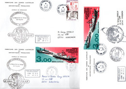 TAAF / LOT DE 25 ENVELOPPES  CAMPAGNE 1997 KERGUELEN - Collections, Lots & Series