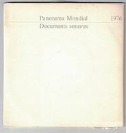 2 DISQUES  PUBLICITAIRE RTL PANORAMA MONDIAL DOCUMENTS SONORES 1976 CHIRAC GISGARD D'ESTAING CONCORDE JEAN GABIN - Formati Speciali