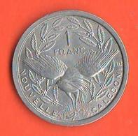 Nuova Caledonia 1 Franco 1949 Francs New Caledonia Nouvelle Caledonia France Territory Aluminum Coin - Nuova Caledonia