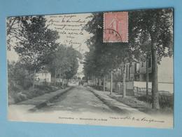 "SUCY En BRIE -- Boulevard De La Gare - Villas - Attelage Au Loin - Cpa ""précurseur"" 1905 - Sucy En Brie"