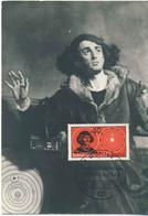 931  Nicolas Copernic, Astronomie: Carte Maximum D'Allemagne, 1973 - Nicolaus Copernicus. Astronomy Mathematics Physics - Astronomy