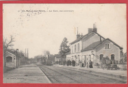 Cher - Mehun Sur Yèvre - La Gare - Train à Vapeur - Mehun-sur-Yèvre