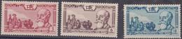 ⭐ Indochine - YT N° 199 à 201 ** - Neuf Sans Charnière - 1938 ⭐ - Unused Stamps
