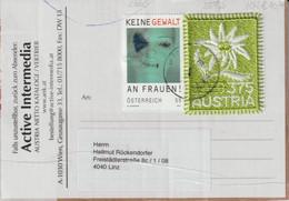 2021 - ÖSTERREICH - Paketabschnitt M. Div. Briefmarken (Edelweiss)- S. Scan (2572o +   At) - 2011-... Cartas