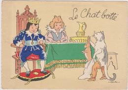 JACK  Ed Barre Dayez N°1489  I  -  Contes De Fées Le Chat Botté - CPSM 10,5x15  BE 1950-2 Neuve - Other Illustrators