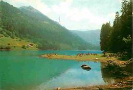 74 - Montriond - Le Lac De Montriond - Flamme Postale - CPM - Voir Scans Recto-Verso - Andere Gemeenten