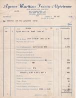 Dix Documents Commerciaux 1945-1965 Belle Qualité. - 1950 - ...