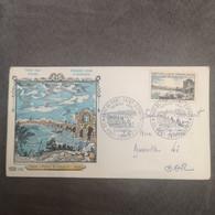 FRANCE Enveloppes FDC Pont Saint-Esprit 1966 1er Jour - Collection Timbre Poste - 1960-1969
