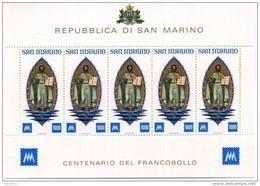 1977 SAN MARINO BF 27 MNH ** - Blocks & Sheetlets